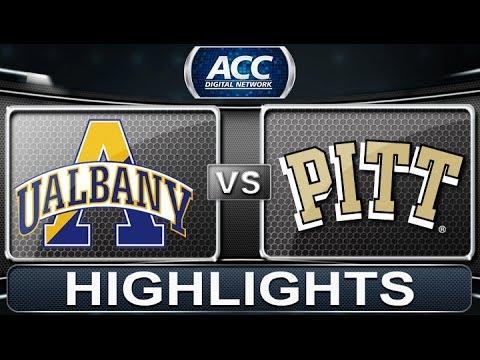 Albany Vs Pittsburgh | 2013 ACC Basketball Highlights