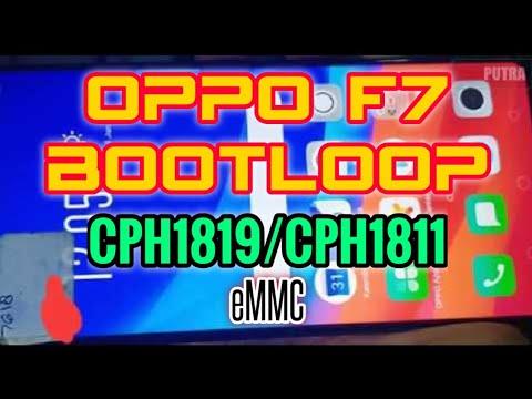 REPARTISI EMMC OPPO F7 CPH1819/CPH1811 SUPER BOOTLOOP [Bukan Ganti EMMC]