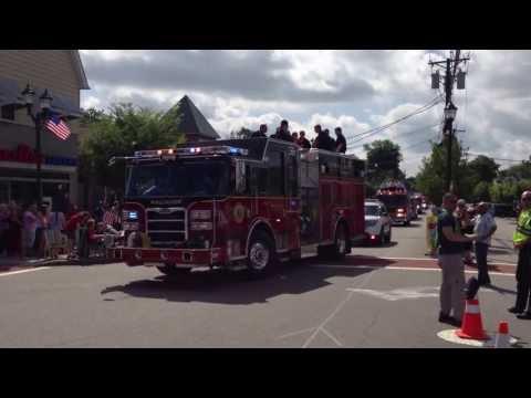 2013 Maywood 4th of July Parade Fire Apparatus