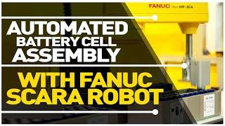 SCARA Robot Battery Assembly -…