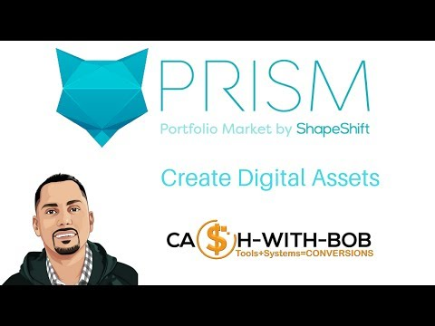 Prism Exchange Create Digital Asset Portfolios 📉