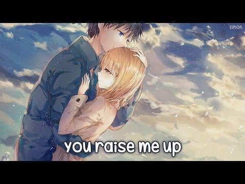 Nightcore - You Raise Me Up - (Lyrics)