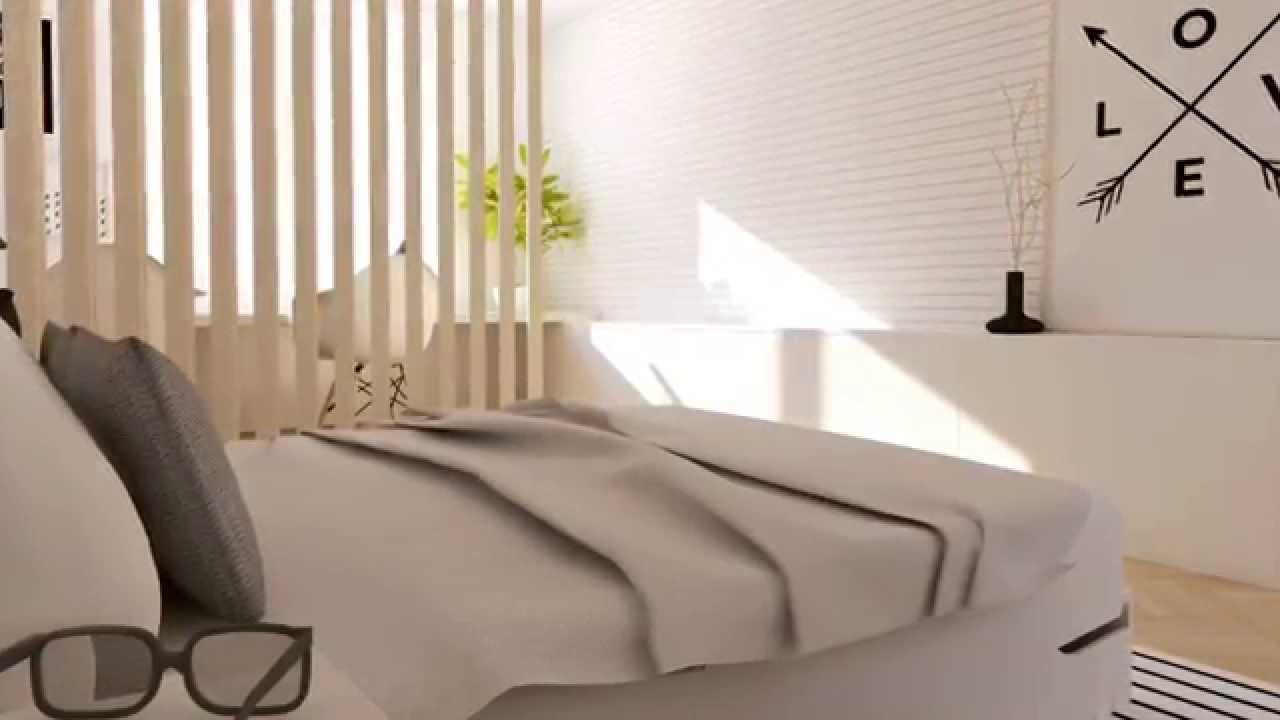 amazing bedroom makeover in scandinavian style youtube