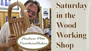 Dust Collection: Saturday In The Woodworking Shop #7 With Andrew Pitts~furnituremaker