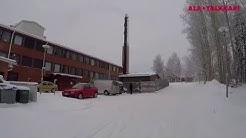 Harjurannan koulu, Ylikiiminki (hakelämmitystä Ala-Talkkarilla)