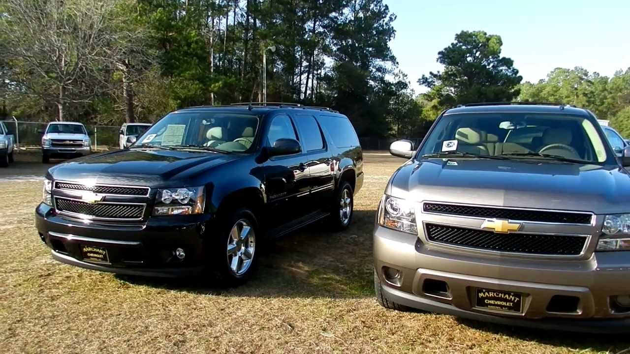 2012 Chevy Suburban LT w/ Remote Start for Sale @ Marchant ...
