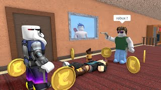 ROBLOX Murder Mystery 2 Funny Moments (ROBUX)