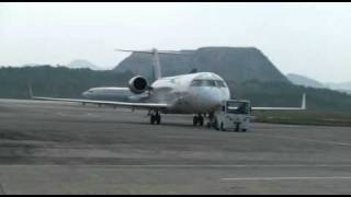 Main landing gear replacement of China Express Airlines