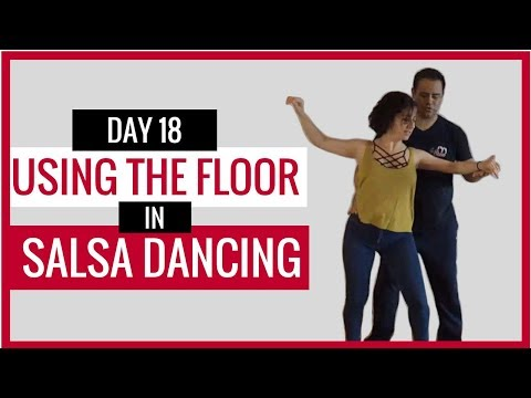 🔴 Video #18  Using the floor in Salsa Dancing #mysalsaonline