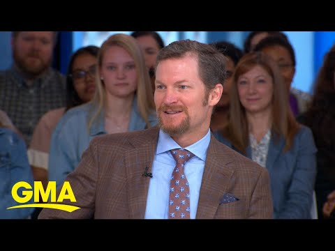 Dale Earnhardt Jr. reflects on his NASCAR career live on 'GMA' l GMA