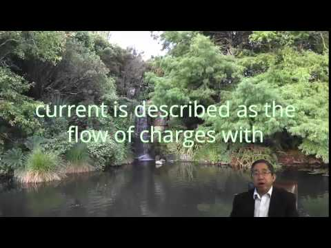 Electric Current:  Define Electric Current Flow With A Water Analogy