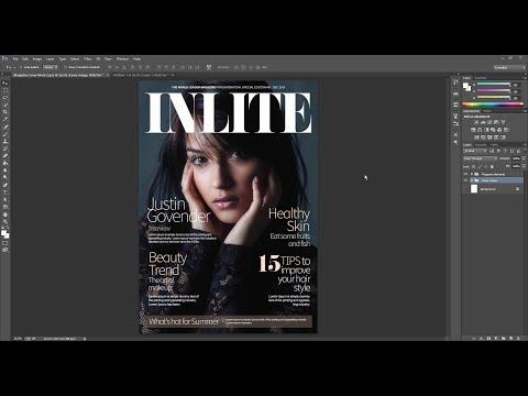 Fashion Magazine Retouching in Photoshop