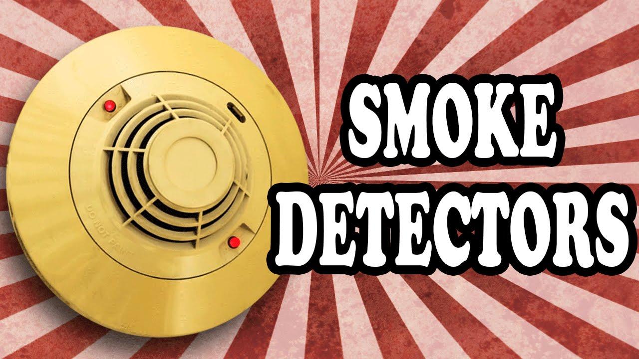 How Do Smoke Detectors Work Youtube