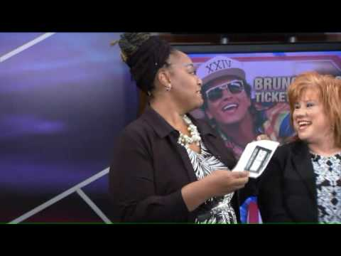 Bruno Mars Ticket Winner