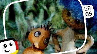 """SANDMÄNNCHEN: """"Plumps und der Froschkönig"""" (mit Küken) Folge 05 - Sandmann"""