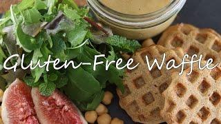 キヌア入りワッフルの焼き方【Vegan】【Macrobiotic】【Sweets】【Gluten-Free】