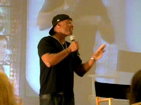 Charles Malik Whitfield in LA 09: On putting his head in a toilet