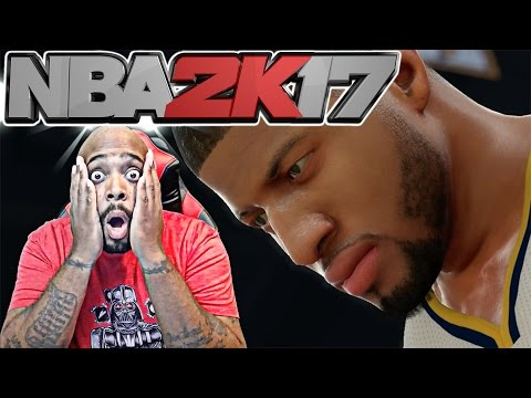 REACTION TO NBA 2K17 MOMENTOUS GAMEPLAY TRAILER! WHY THEY DO MELO LIKE THAT?!