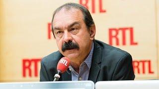 Philippe Martinez accuse Manuel Valls de