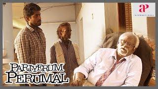 Pariyerum Perumal Emotional Scene | Poo Ram advises Kathir | Lijeesh insult Kathir's father