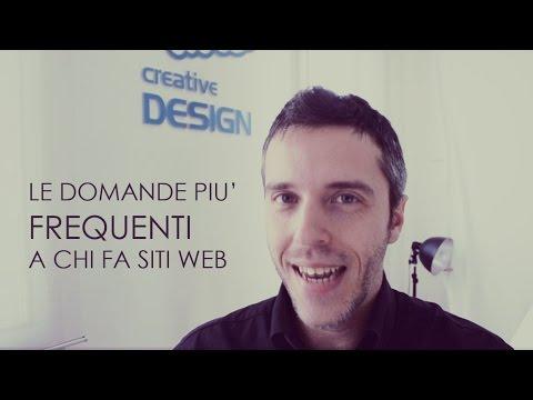 Le Domande Più Frequenti a chi fa Siti Web, Video e Fotografia (e le risposte)