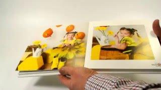 Детская фотокнига в оранжево-желтых тонах(, 2016-04-12T10:07:26.000Z)