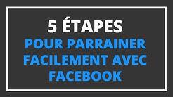 🚀 5 étapes pour parrainer facilement avec Facebook