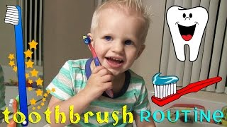 Michael's Happy Tooth Brushing Routine