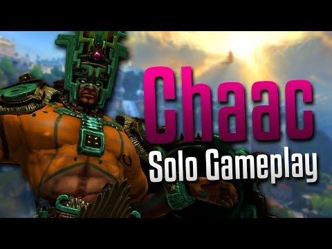 Smite: MY BUFF!- Chaac Solo Gameplay