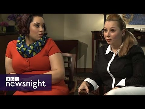 Thumbnail: The FULL interview with Amanda Berry and Gina DeJesus - BBC Newsnight