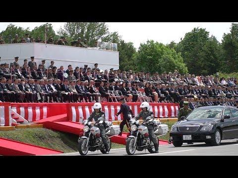 活躍する自衛隊 第69周年創立記念行事