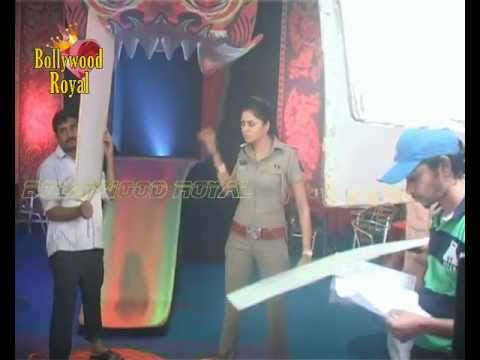 On location of TV Series 'FIR' with Kavita Kaushik 1