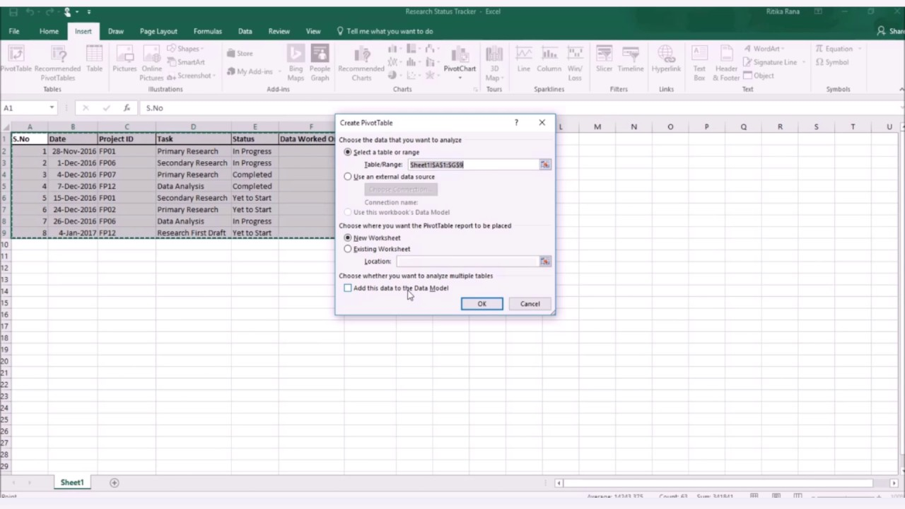How to drive better insights with pivot table in microsoft excel how to drive better insights with pivot table in microsoft excel 2016 gamestrikefo Choice Image