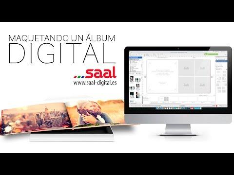 Maquetación de álbum digital - Saal Digital