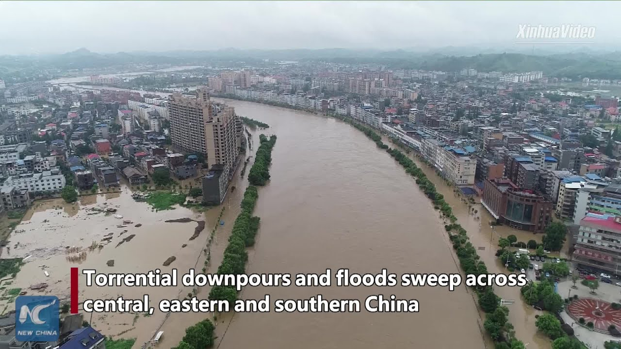 (CHINA, July 2019) 17 dead or missing as rainstorms, floods sweep China
