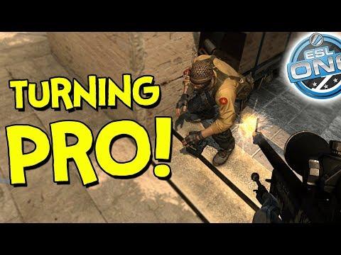 So I turned pro? - CS:GO (Funny Moments)