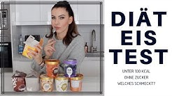 DIÄT EIS TEST - Welches Eis schmeckt wirklich? (Halo Top, Lycka, Breyrer's) I Tasty Tuesday