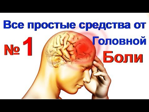 Как лечить головную боль в домашних условиях народными средствами