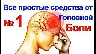 Домашние средства от головной боли - № 1. Снять головную боль -народное лечение / ed black
