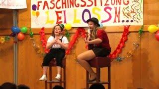 Stephanie und Kathrin Mia san mia 1. Kremsbrückner Faschingssitzung