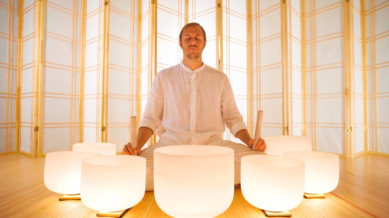 Purity Sound Bath | Meditation Music for Cleansing the Mind & Spirit | Singing Bowls