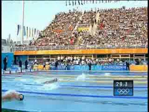 2004 Olympics Mens 100 Fly Final