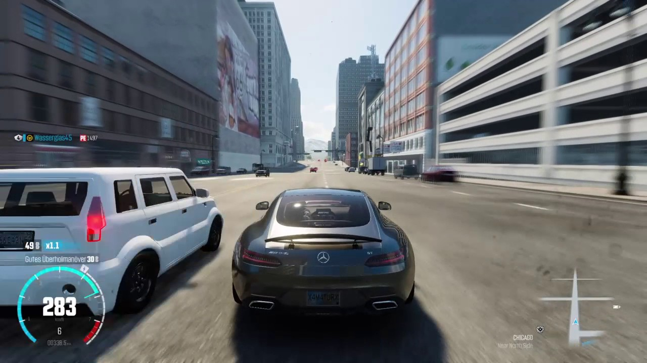 The Crew™ Overtake 80 cars in 60 seconds