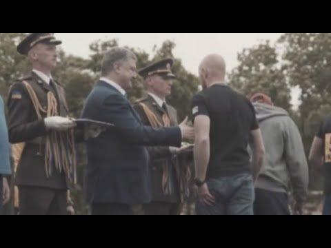 Скандал! Ветеран Азова НЕ ПОЖАЛ демонстративно руку Порошенко