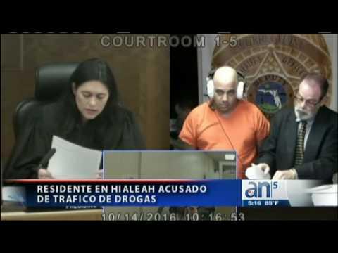 Arrestan a cubano de Hialeah por trafico de drogas - América TeVé