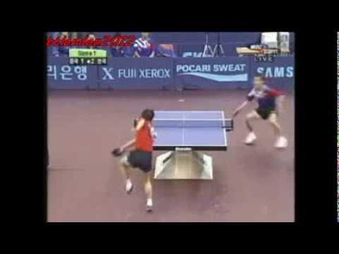 Ma Lin vs Kim Taek Soo (Asian Games 2002)