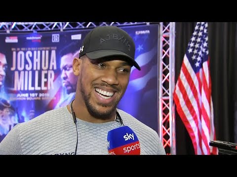 """""""I'M GOING TO RECONSTRUCT HIS FACE!"""" - Anthony Joshua says he will never forgive Jarrell Miller"""