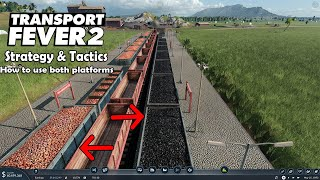 Transport Fever 2 Strategy & Tactics Quick Tip: How to Utilize Multiple Platforms