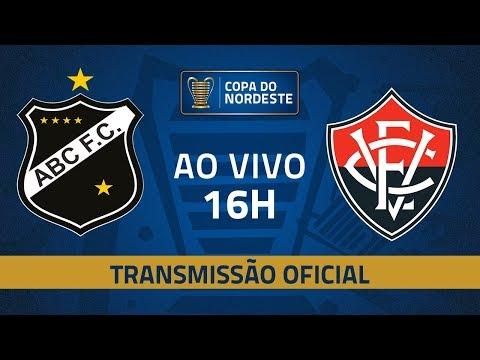AO VIVO: ABC x Vitória | 7ª rodada | Copa do Nordeste 2019