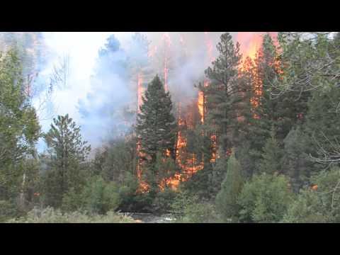 Colorado Fires Close Up